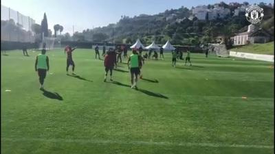"""Man Utd tiếp tục """"luyện công"""" dưới nắng ấm ở Marbella"""