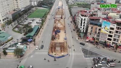 """Diện mạo cầu cạn hơn 500 tỷ đồng giúp hóa giải """"nút thắt"""" Nguyễn Văn Huyên"""