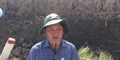 Phó Chủ tịch Cà Mau nói về tình hình sụt lún mùa khô.
