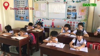"""Ngôi trường """"5 trong 1"""" ở quần đảo Trường Sa"""