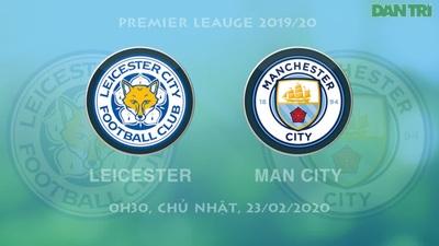 So sánh phong độ cầu thủ Leicester vs Man City