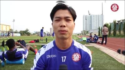 Công Phượng đặt quyết tâm tại AFC Cup