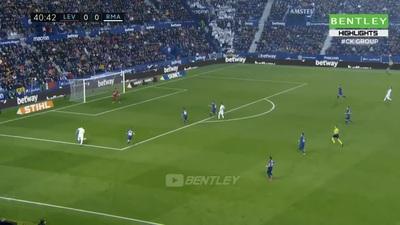 Thua sốc Levante, Real Madrid mất ngôi đầu bảng