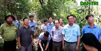 Thứ trưởng Bộ Nông nghiệp kiểm tra rừng U Minh Hạ.