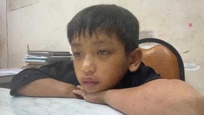 Công an trung tâm Sài Gòn tìm người thân bé trai 7 tuổi