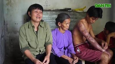 Lời tâm sự đắng lòng của chị Trần Thị Xinh.