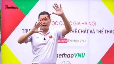 Bóng chuyền: Kĩ thuật chuyền bóng cao tay và Kĩ thuật đệm bóng | Thể thao VNU