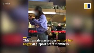 Khách Trung Quốc quyết không chịu cách ly, mắng nhân viên sân bay