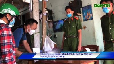 Đà Nẵng vận động du kách ở bán đảo Sơn Trà quay về nhà, hạn chế tụ tập