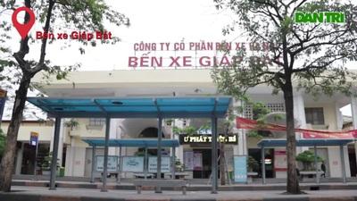 Hà Nội: Nhiều bến xe trống trơn trong ngày đầu hạn chế xe khách đi lại