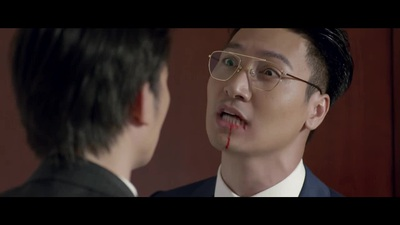 """Mạnh Trường bị Nhan Phúc Vinh đấm toé máu trong """"Tình yêu và tham vọng"""" tập"""
