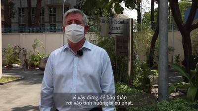"""Đại sứ Anh: """"Chúng ta may mắn khi được sống và làm việc tại Việt Nam"""""""