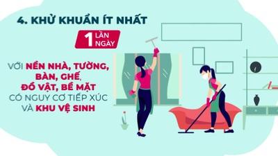Cách lau rửa nhà cửa phòng Covid-19