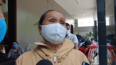 Mẹ của Thiếu tá Đặng Thanh Tuấn tiếc thương con trong nước mắt