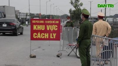 """Xóm Bàng ở Hà Nội """"nội bất xuất, ngoại bất nhập"""""""