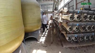 """Nhà máy lọc nước """"triệu đô"""" bỏ hoang ở Cần Giờ"""