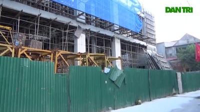 Dự án 20 tầng gây hư hỏng nhà dân
