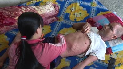 Hoàn cảnh khó khăn, bệnh tật bủa vây của anh Hùng