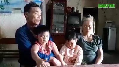 Nỗi bất hạnh của hai đứa trẻ không cha, mẹ điên dại.