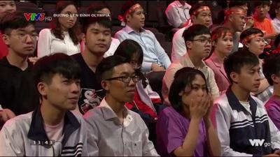 Nam sinh Quảng Trị xuất sắc giành trọn điểm ở phần thi Về đích Olympia