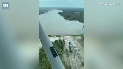 """Vỡ 2 đập, bang của Mỹ đối diện thảm họa """"500 năm mới có 1 lần"""""""