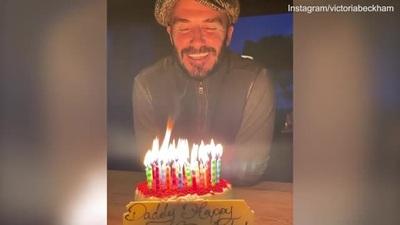 David Beckham đón sinh nhật tuổi 45