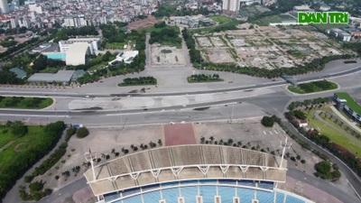 Toàn cảnh khu vực có thể trở thành quảng trường thứ 5 của Hà Nội