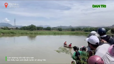 Tìm thấy thi thể nam sinh đuối nước ở Đà Nẵng