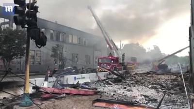 """Thành phố Mỹ rung chuyển vì """"biển lửa"""" bạo động"""