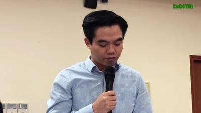 Ông Phạm Trường Giang - Vụ trưởng Vụ BHXH (Bộ LĐ-TB&XH) góp ý