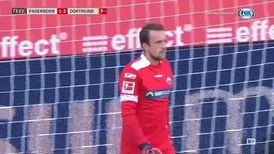 Sancho lập hat-trick giúp Dortmund hủy diệt Paderborn
