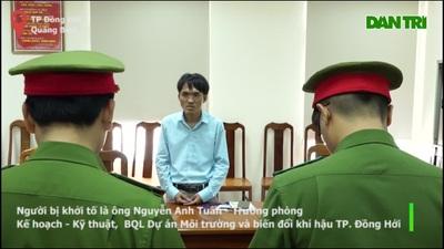 Trưởng phòng BQL dự án môi trường bị khởi tố