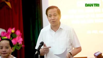 Bộ trưởng Đào Ngọc Dung đề nghị đẩy nhanh tiến hỗ trợ lao động tự do