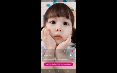 Hướng dẫn cách thiết lập video làm hình nền bằng ứng dụng Video Wallpaper