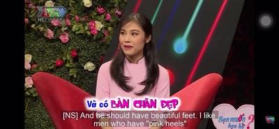 """Cô gái đòi """"soi"""" kĩ bàn chân để quyết định có hẹn hò với bạn nam hay không"""