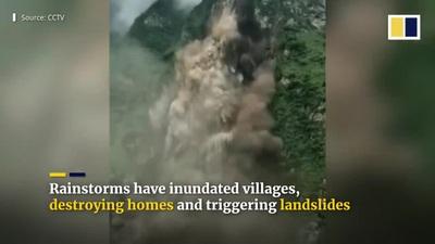 14 triệu người bị ảnh hưởng bởi lũ lụt kinh hoàng tại Trung Quốc