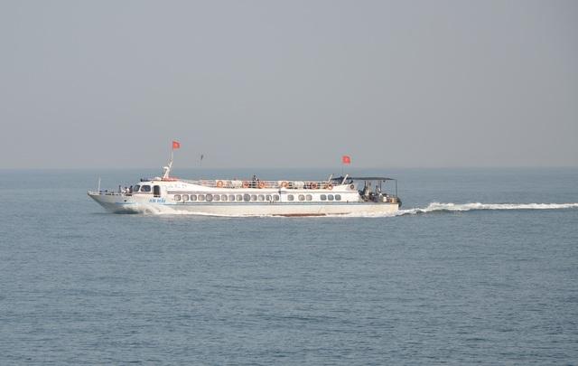 Sản phụ Kiên hạ sinh ngày trên chuyến tàu cao tốc đang di chuyển trên biển.