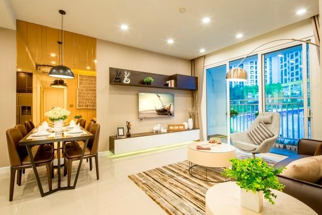 Thiết kế hiện đại của căn hộ RichStar – mặt tiền đường Hòa Bình, Q.Tân Phú