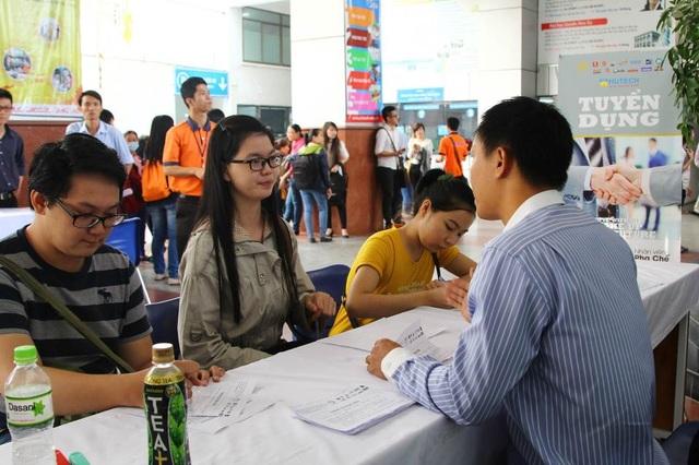 Cơ hội để các doanh nghiệp tuyển chọn được những nhân sự trẻ, năng động và giỏi chuyên môn