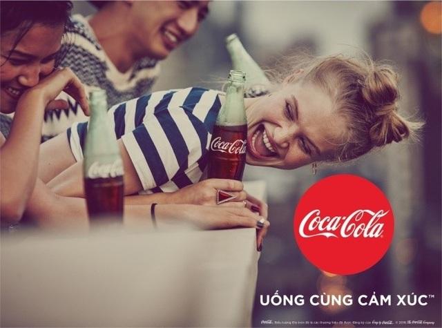 Coca-Cola vừa tung ra một chiến lược thương hiệu toàn diện mang tên Taste The Feeling - Uống cùng cảm xúc