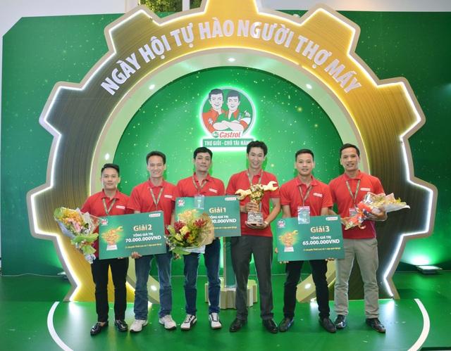 Những thợ máy xuất sắc nhất sẽ đại diện cho Việt Nam tham gia tranh cúp khu vực Đông Nam Á tại Thái Lan vào tháng 11/2016