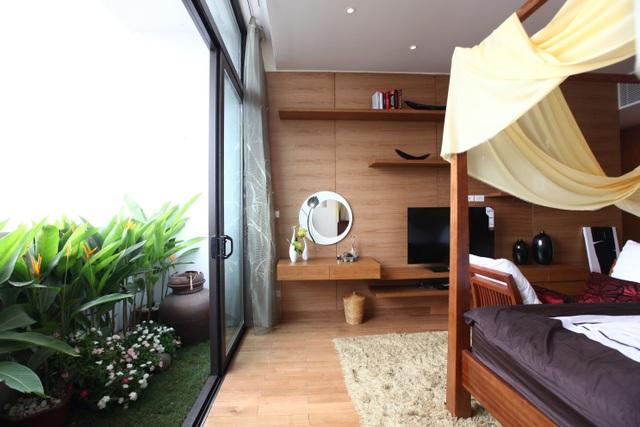 Phong cách Home Resort của căn hộ cao cấp Dolphin Plaza