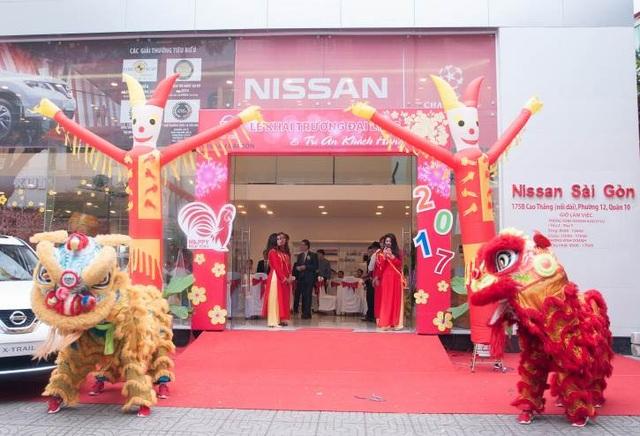 Đại lý Nissan Sài Gòn 3S tọa lạc tại 175B, Cao Thắng, Phường 12, Quận 10, thành phố Hồ Chí Minh