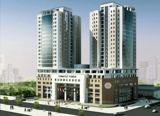 Comatce Tower bao gồm 100 căn góc: 88 căn hộ 3 phòng ngủ, 8 căn hộ thông tầng và 4 penthouse
