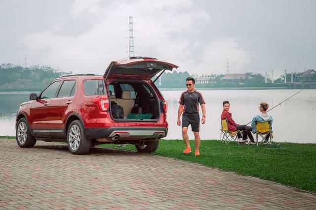 Bởi vậy dù đi câu cá hay dã ngoại cuối tuần cùng bạn bè cũng không thể làm khó được một trong những mẫu SUV bán chạy nhất Bắc Mỹ trong 25 năm.