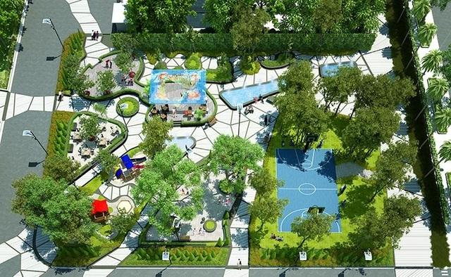 Thống Nhất Complex dành tới 60% diện tích cho cảnh quan, cây xanh và hệ thống tiện ích hiện đại phục vụ cho cuộc sống