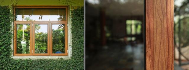 Hệ cửa Alti thương hiệu TID kết hợp nhôm và gỗ cho phong cách cổ điển, sang trọng