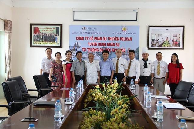 Công ty du thuyền Pelican tuyển dụng nhân sự tại trường Đại Học Kinh Bắc