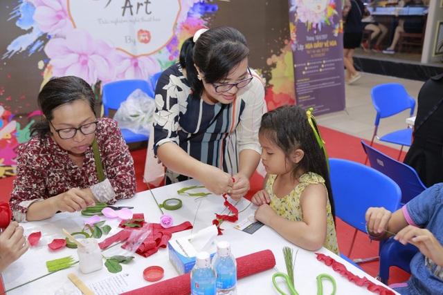 Các lớp nghệ thuật hè flowers art dành cho thiếu nhi và các bậc phụ huynh