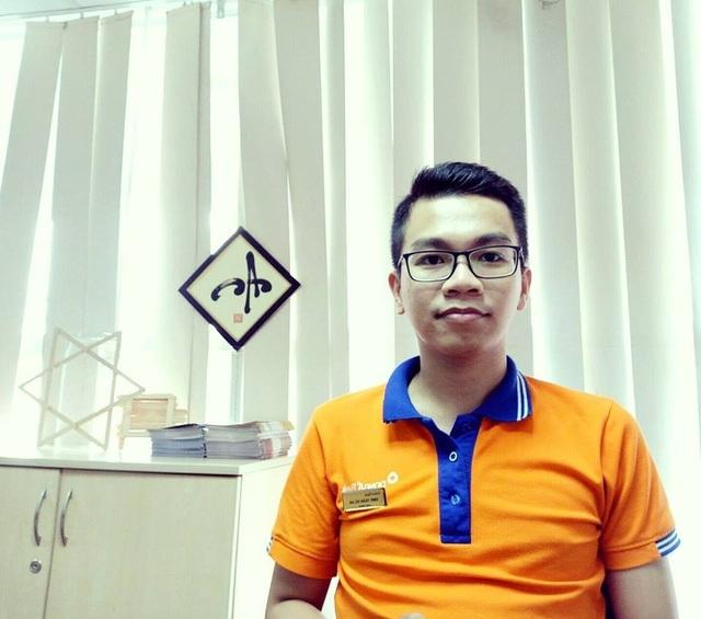 Anh Đinh Trần Vũ An - cựu sinh viên ngành Quản trị kinh doanh (khóa 2010)